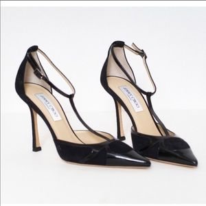 7.5 Jimmy Choo shoes heels black 7.5